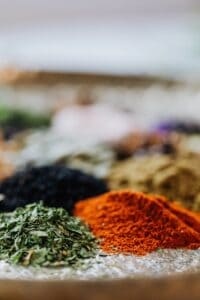 Cats hate the smell of spices, curry and pepper